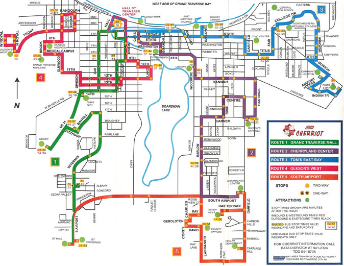 Pics Photos  Traverse City Map Transportation